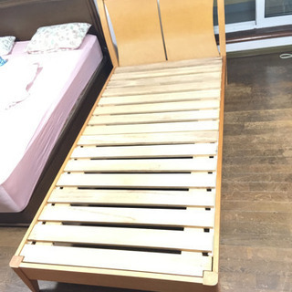シングルベッド 木製