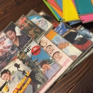 英会話CD、テキストセット 500円 9/13まで