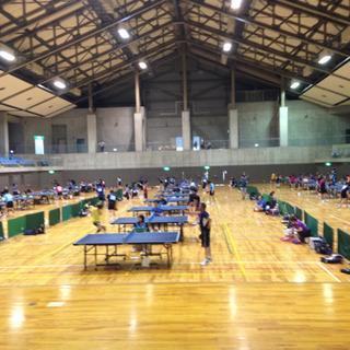 第28回ワンピースぐんま卓球大会 藤岡市