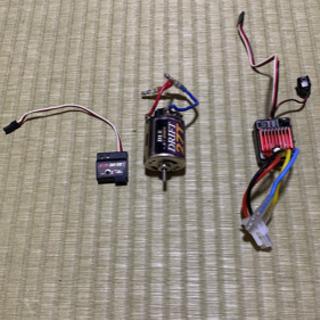 【ネット決済・配送可】ラジコン 2WD 用 ブラシモーター・スピ...