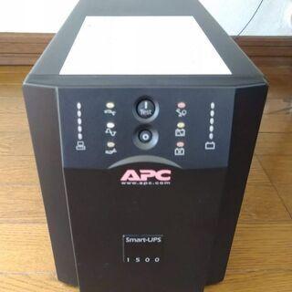 【中古】 無停電装置(UPS) APC SMART UPS1500