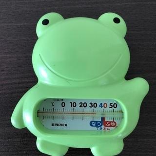 カエルさんの水温計