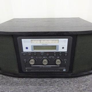 🍎TEAC CDレコーダー ターンテーブル付 GF-350