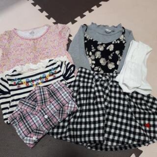 女の子 子ども服 サイズ110