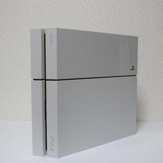 【ネット決済・配送可】プレステ4 500GB ホワイト ソフト4点