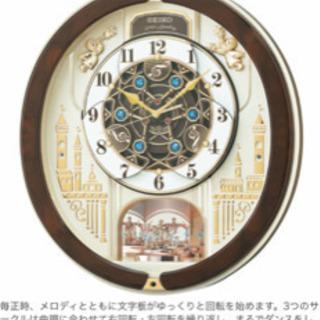 新品 未使用  SEIKOのからくり時計