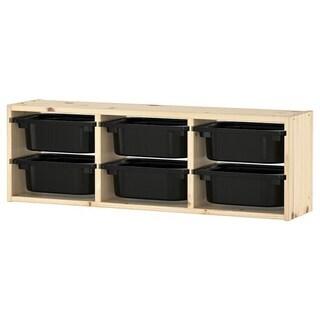未使用品・IKEA【トロファスト】ウォール収納 6,190…