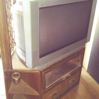 籐製角家具 TV台