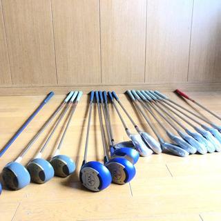 女性用ゴルフクラブ一式18本とゴルフバック