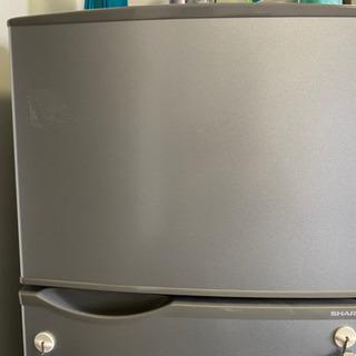 SHARP 2014年製 冷蔵庫 - 家電