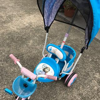 アナ雪 三輪車