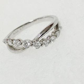 【美品】Douxmiere ダイヤモンドプラチナリング