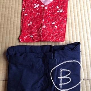 【お値下げ】祭り衣装 こども用 上下セット125センチ 各 400円 - 杉並区
