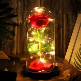 【ネット決済・配送可】枯れない バラ LED 照明☆プレゼントに