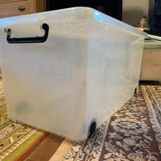 プラスチックケース キャスター付き 収納ケース