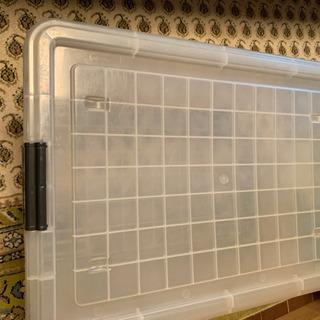 プラスチックケース キャスター付き 収納ケース 中サイズ