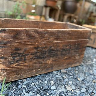 古い木箱 アンティーク ヴィンテージ