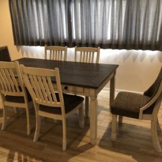 アシュレイ ダイニングテーブル