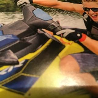 水上オートバイの