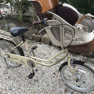 子供乗せ自転車22インチmamma