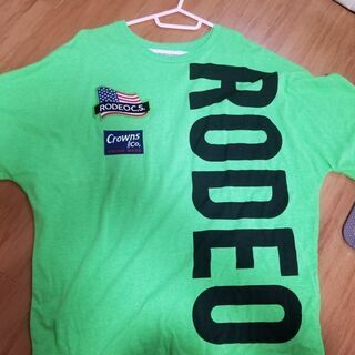 RODEO CROWNS Tシャツ 1000→700