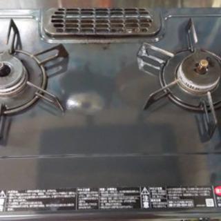 ガスコンロ Gas stove リンナイ 不具合なし 2口+魚用
