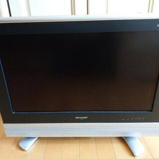 シャープ AQUOS 26型液晶テレビ