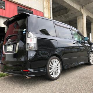 ●●新潟発ヴォクシーZ/人気の黒/モデリスタ製フルエアロ/機関良...
