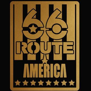 ROUTE66 カッティングステッカー 2色