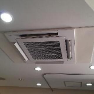 格安業務用エアコン取付けから修理、撤去までお気軽にご相談下…