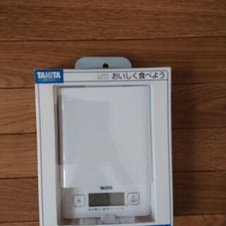 【未使用】TANITA デジタルクッキングスケール