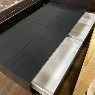 シングルベッド!引き出し&ライト&コンセント口が付いてます!ネット価格49800円です。 - 佐賀市