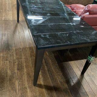 食卓テーブルのみ!ピアノ塗装!伸長式テーブル!140㎝から…