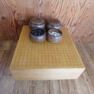 囲碁盤 碁石 セット サイズ 42cm 46cm 囲碁 貝 ボー...