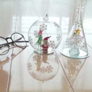クリスマス ガラス飾り