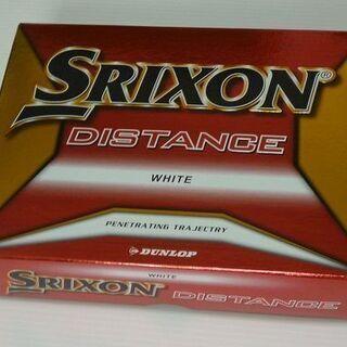 ゴルフボール SRIXON DISTANCE 白 12個 新品未使用