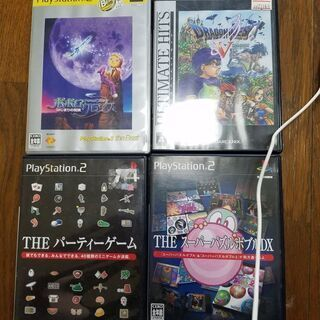 PS2ソフト4枚