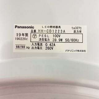 【ご来店限定】*パナソニック LEDシーリングライト 12畳用 2019年製*製造番号 190220イ* − 大阪府