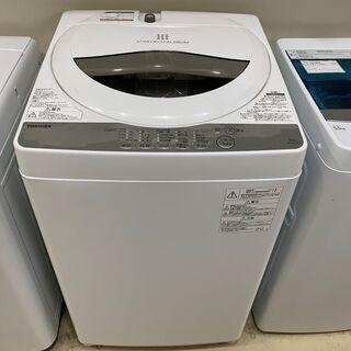 洗濯機 東芝 TOSHIBA AW-5G6(W) 2019年製 ...