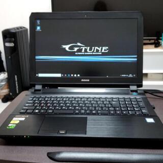 値下げ! G-TUNE  ゲーミングノートPC GTX1070 高性能