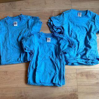子ども用無地Tシャツ23枚
