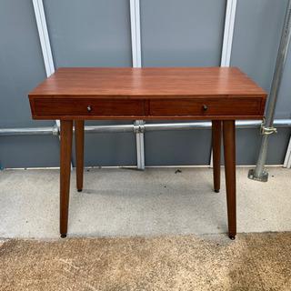 #KM60 ニトリ 木製テーブル 幅90奥行45高75