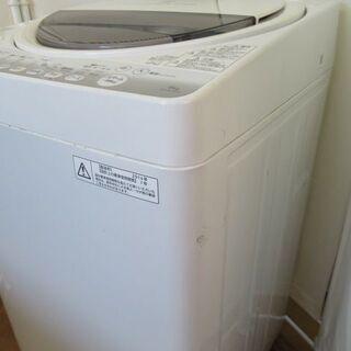 JAKN1550/洗濯機/6キロ/ホワイト/一人暮らし/単身/新生活/東芝/TOSHIBA/AW-60GM/中古品/ - 売ります・あげます