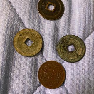 古いコイン 骨董品の貨幣