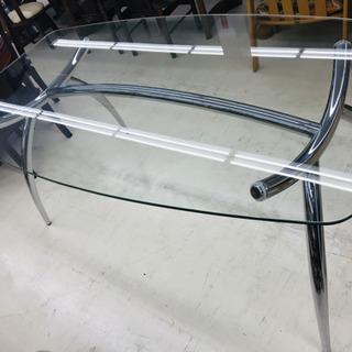 ガラステーブル ダイニングテーブル 食卓テーブル リビング