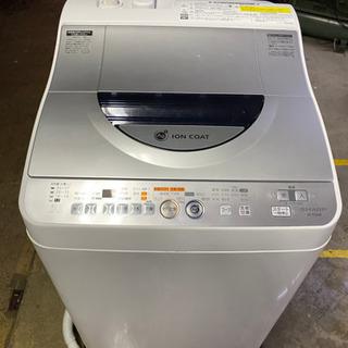 2010年 シャープ 洗濯機  中古