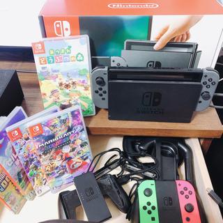 Nintendo Switch(ニンテンドースイッチ)本体+あつ...