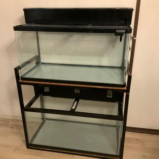 900ガラス水槽✖️2個セット