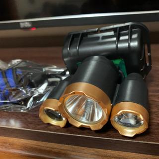 【最終値下げ】充電式 LEDヘッドライト