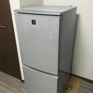 【冷蔵庫売ります】SHARP 137L 2012年製 SJ-PD...